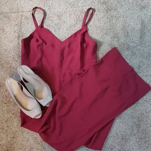 Red Jumpsuit | Madewell